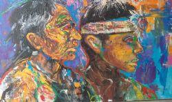 Fine Art - Portrait, Impressionism, Native American