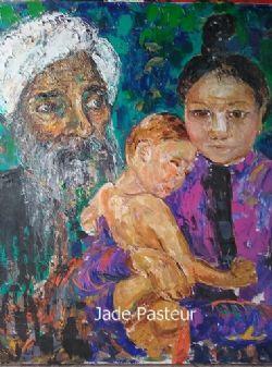 Art - Portrait, Impressionism, Family, Distant Relations