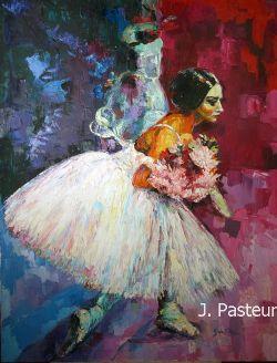 Fine Art - Portrait, Ballet, Impressionism, Ballerina