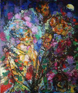 Fine Art - Portrait, Impressionism, Serenade
