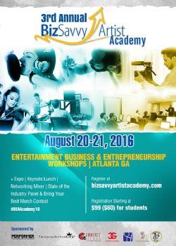Biz Savvy Artist™ Academy Registration