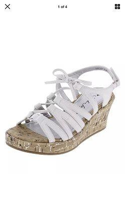 Sarah-Jayne Wedge Sandals-