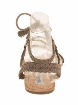 Ladies Sandals*Madden Girl Sorren Taupe*Size 9 M