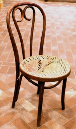 BENTWOOD CHAIR - VINTAGE ICE CREAM PARLOR CHAIR