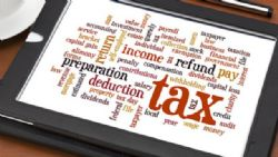 Individual or business tax return preparation