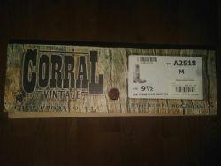Corral Texas Flag Boot