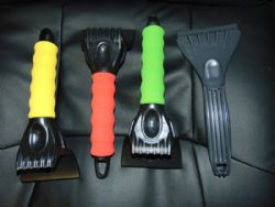 """10"""" Ice Scrapper (Green, Yellow, Red, & Plain)"""