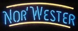 Neon Beer Sign - Norwester