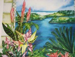 Art:  Tropical Series #01 Lithograph