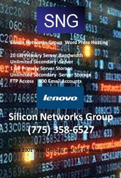 Annual Word Press Hosting From Silicon Networks Group