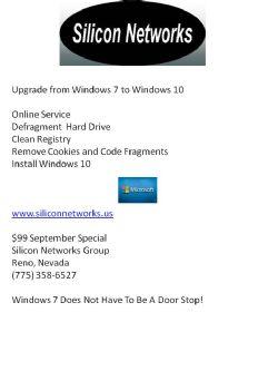 Windows 7 to Windows 10 Upgrade Online