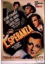 Esperanza Original Mexican Movie Poster 1950's
