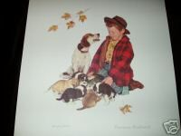 "Norman Rockwell Litd Edition Lithograph ""Pride of Parenthood"