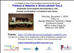 PINNACLE AWARDS AND SCHOLARSHIP GALA - VENDOR