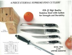 6 Piece Eterma; Supreme Fine Cutlery